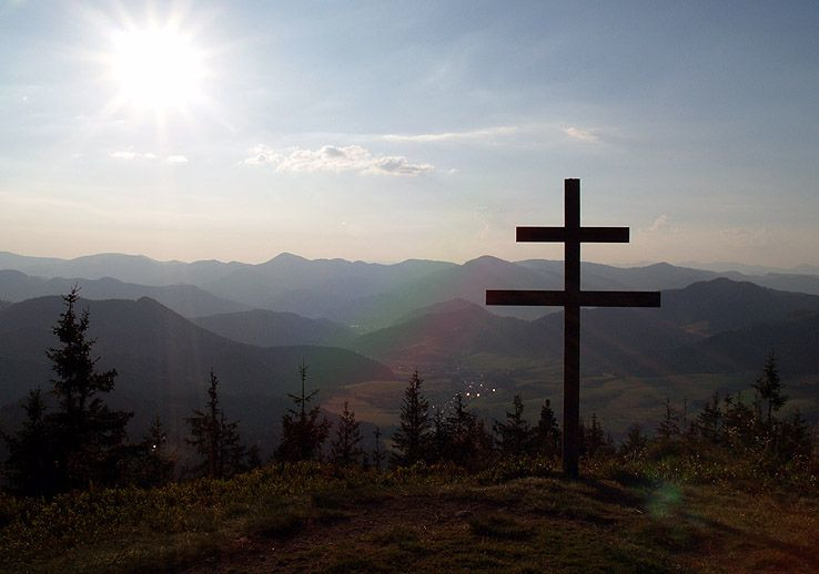 Posedenie pri kríži