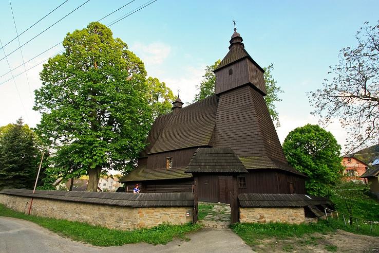 Kostolík v Hervartove