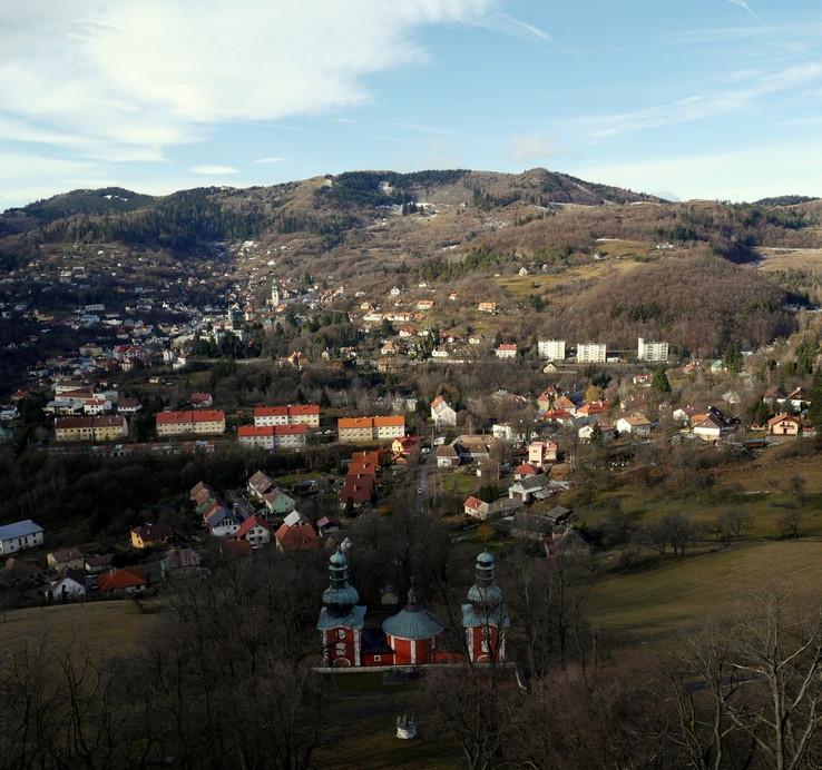 Dolný kostol a Banská Štiavnica