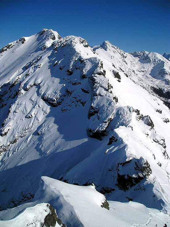 Zimným hrebeňom Červených vrchov III.