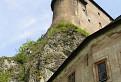 Staré múry Oravského hradu ...