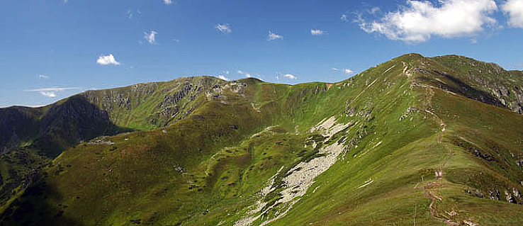 Skalka a Vajskovská dolina