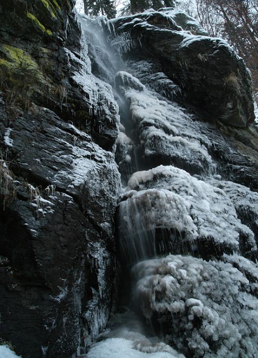 Vodopád Bystro