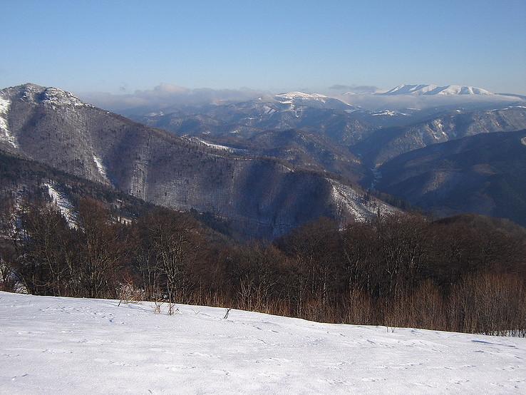 Zimný pohľad z Japňa