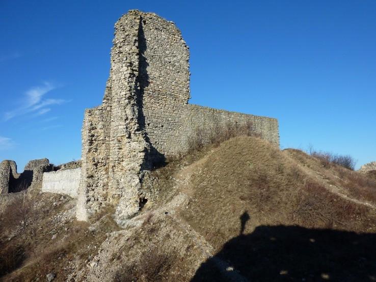 na hrade Branč