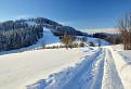 Zimné ráno pod Skaľankou