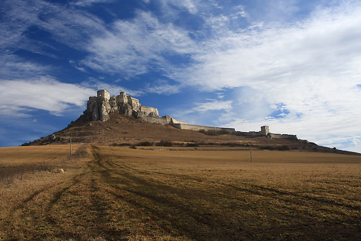Spišský hrad zase inak
