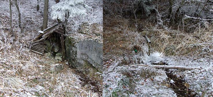 Prameň pod Kamennými Vrátami