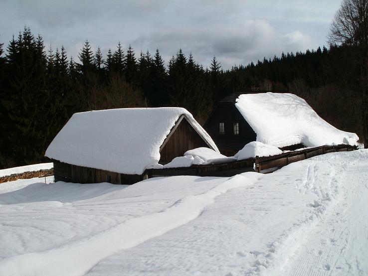 Chalúpky vo Vsetínskych vrchoch
