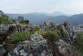 Výhľad z Malého Roštúna na Vysokú