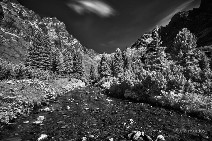 Malá Studená dolina Infrared