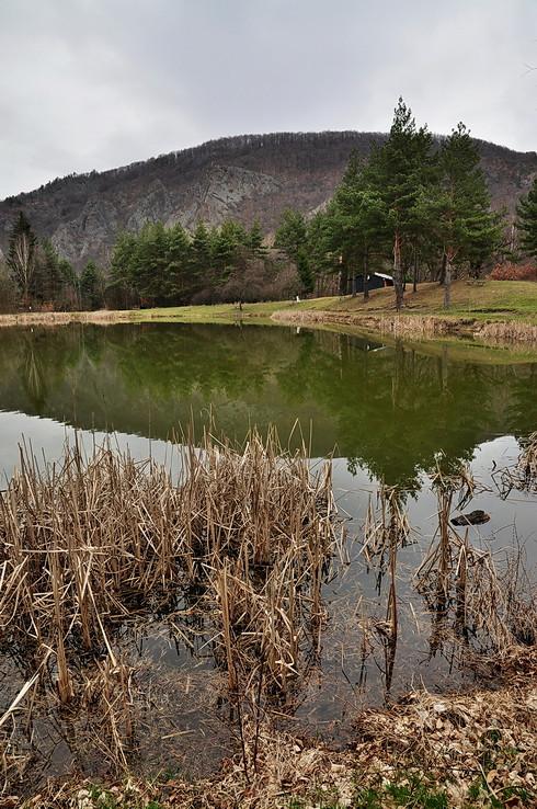 Pri rybníku pod Pustým hradom