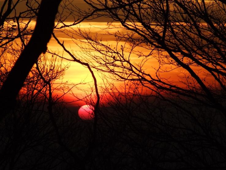 Keď slnko ide spať...