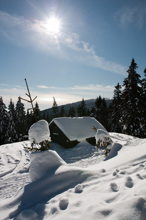 Zima na Martinskych holiach