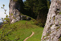 Cestička k hradu Vršatec