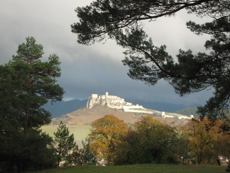 Spišský hrad zo Sivej brady