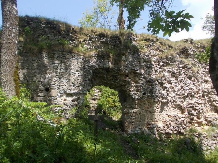 Zrúcaniny hradu Muráň