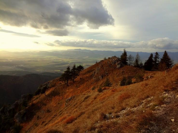 Výhled z Ostré
