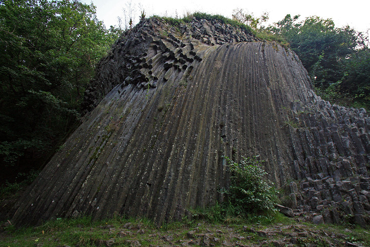 Kamenný vodopád pod Šomoškou