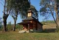 Drevený kostol sv. Juraja v obci Jalová
