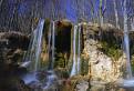 Vodopád na Moštenických travertínoch