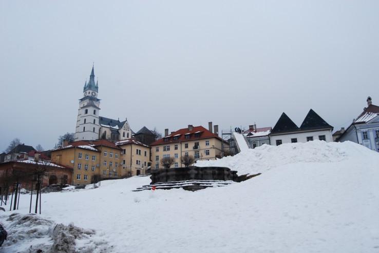 Kremnické hlavné námestie