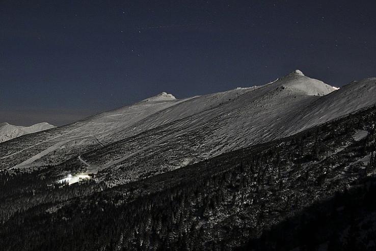 Chopok -juh v noci