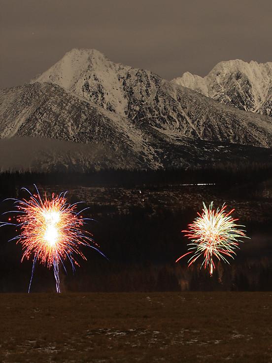 Nový rok pod Gerlachom a Končistou