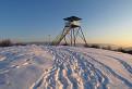 nová rozhľadňa na vrchu Drieňová