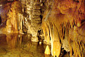 Demänovská jaskyňa slobody - zlaté jazierko v kráľovej galérii