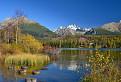 Jeseň končí a hory ukazujú svoju silu.