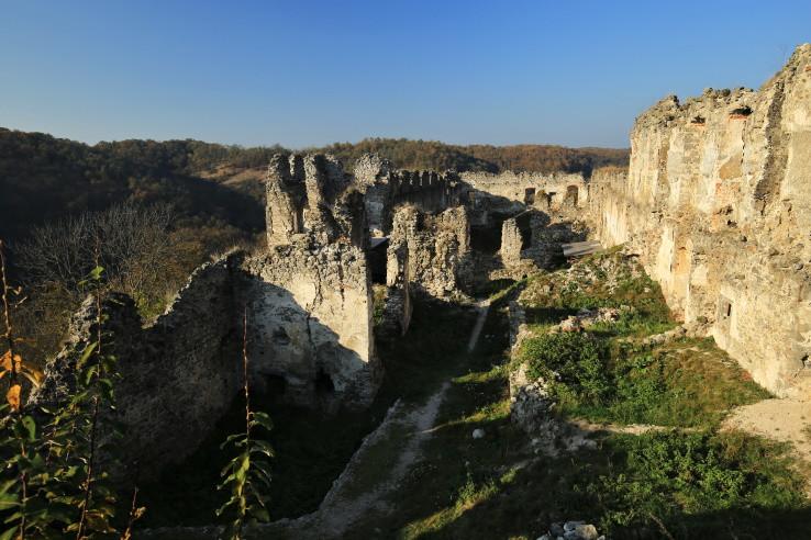 Na hrade Čabraď