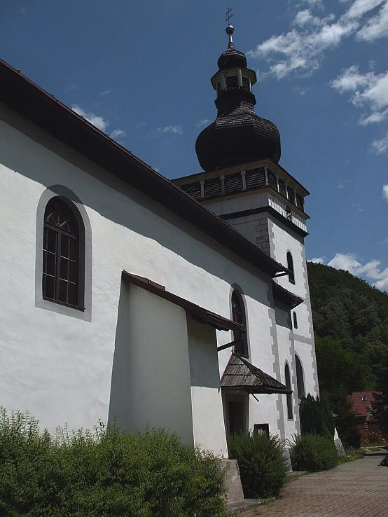Tajovský kostol sv. Jána Krstiteľa