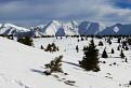 Snehové pláne pod Malou kopou