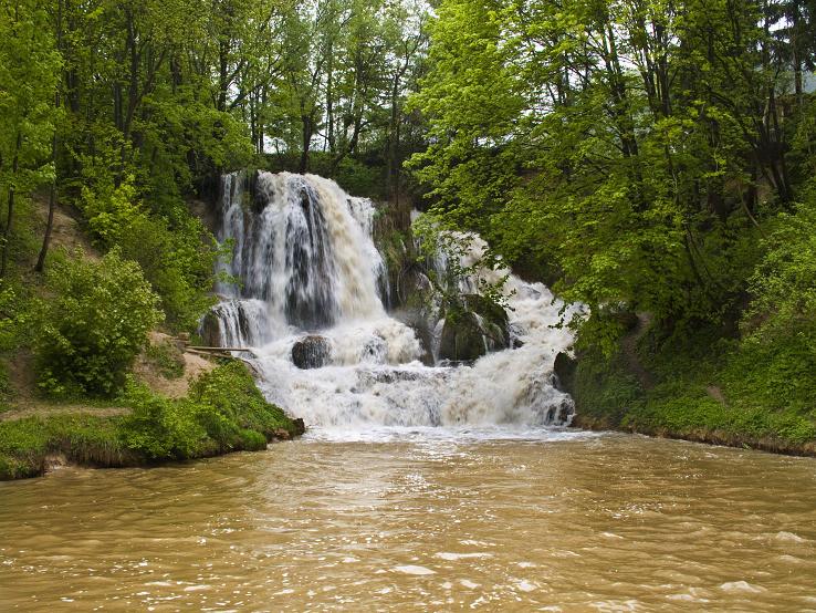 Lúčanský vodopád a záplavy