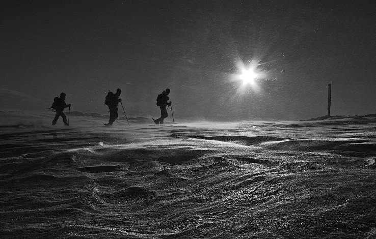 Ľadovou púšťou