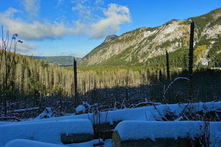 slnko a sneh