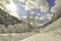 Komjatská dolina v zime