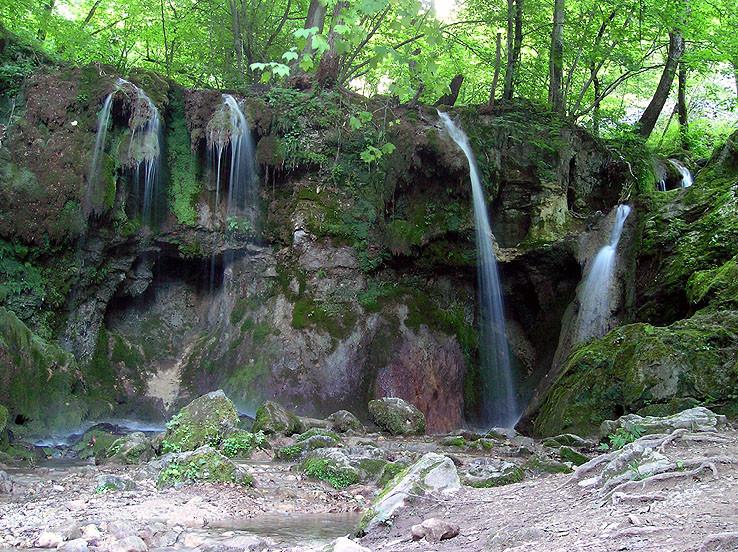 Hájske vodopády II.