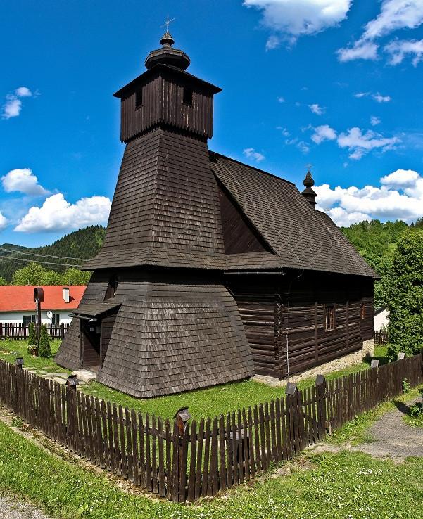 drevený kostolík v Hraničnom