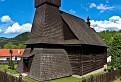 drevený kostolík v Hraničnom / 1.0000