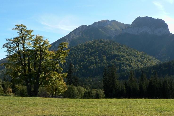 Babie leto pod Belianskymi Tatrami