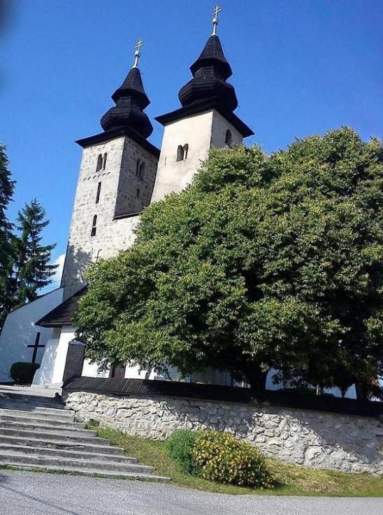 Kostol v Diviakoch nad Nitricou
