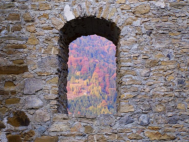 Z okna na Likavskom hrade.