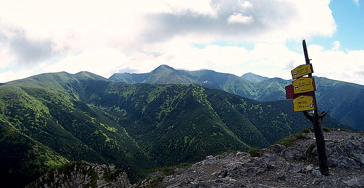 Tatry zo Sivého vrchu
