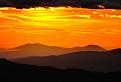 Západ slnka nad Zoborom