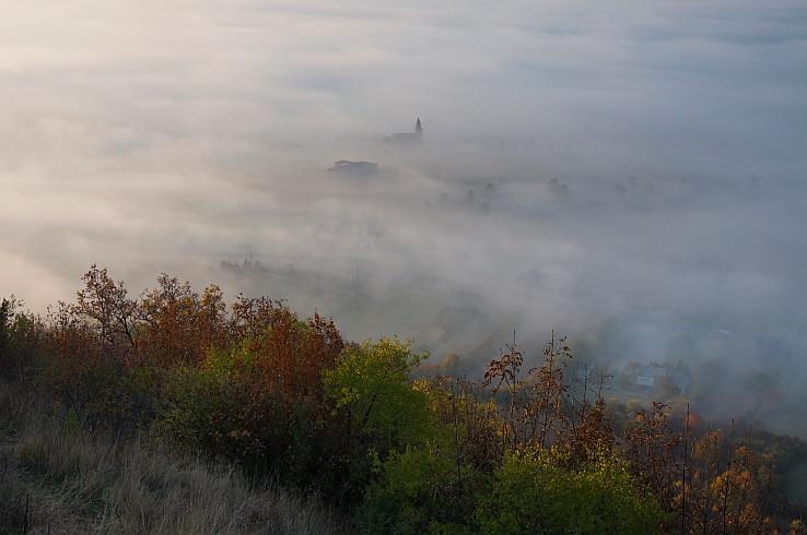 Ráno na Turnianskom hrade