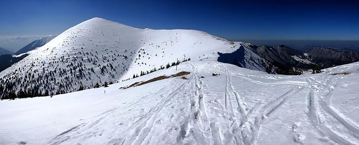 Stěny - severný vrchol