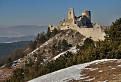 Čachtický hrad s Javorinou