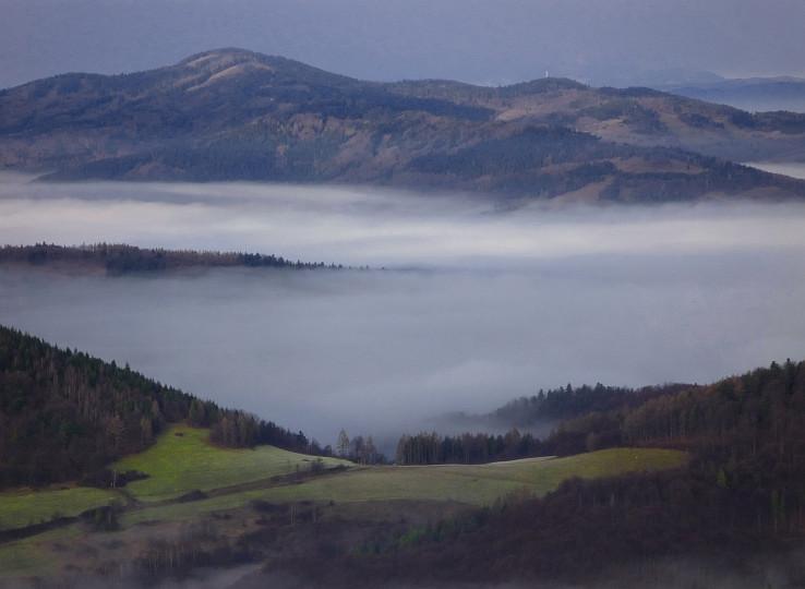 Strieborna, Krompassky vrch a Plejsy